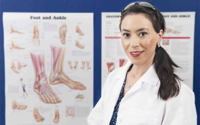 How can podiatrists help with hand-foot syndromes?