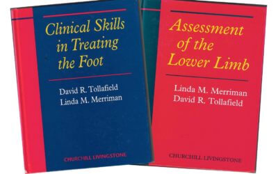 The Story Behind My Podiatry Text Books