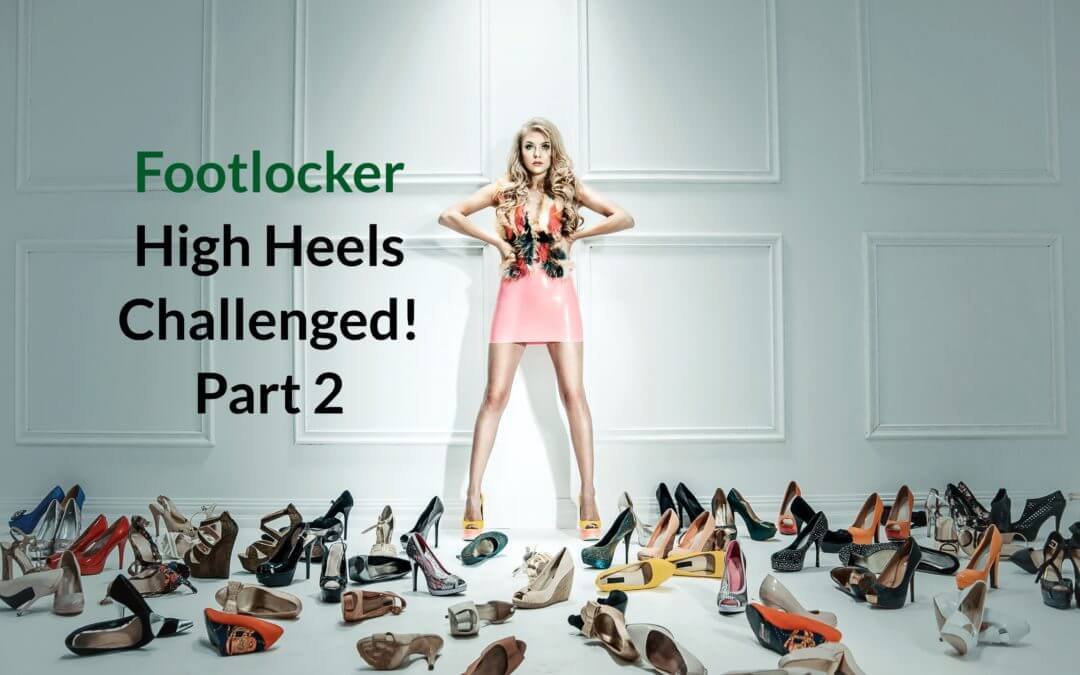 High heels challenged – Part 2