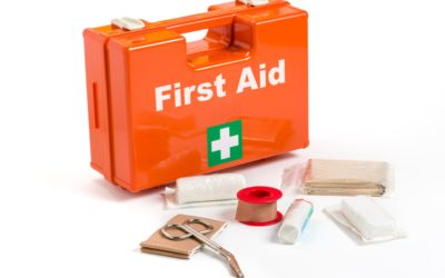 Feet and your first aid kit