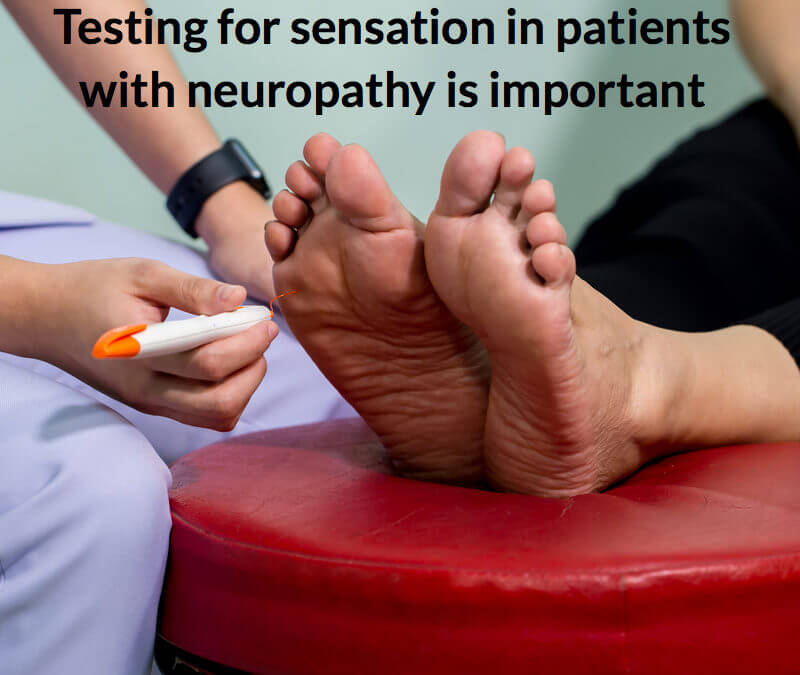 How can podiatrists help with peripheral neuropathy?