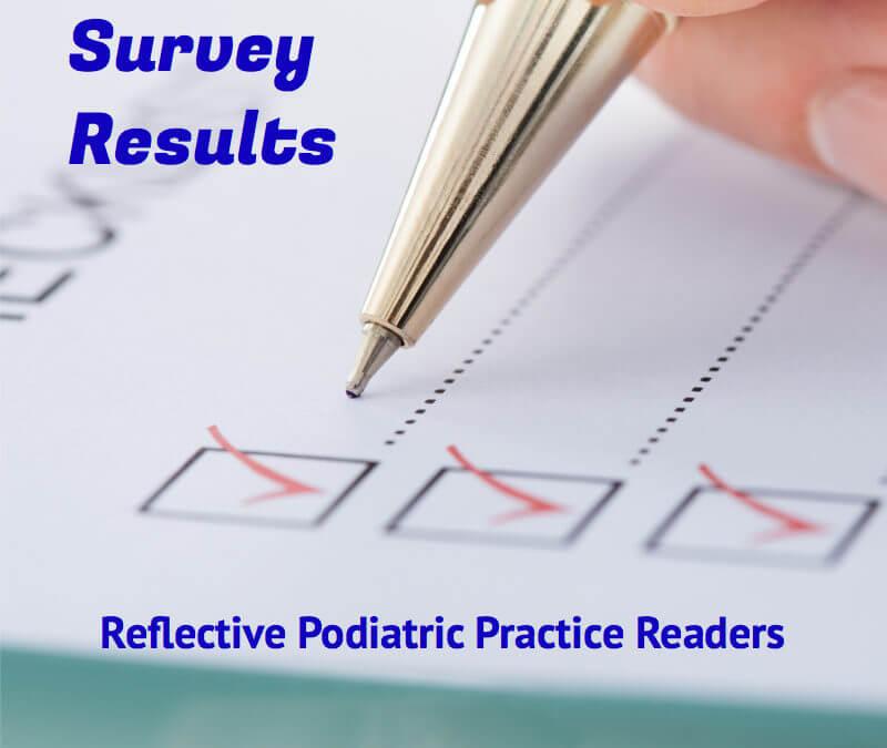 Podiatry Reader Survey