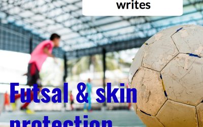 Futsal Trial for a new product to minimise impact on the skin's surface