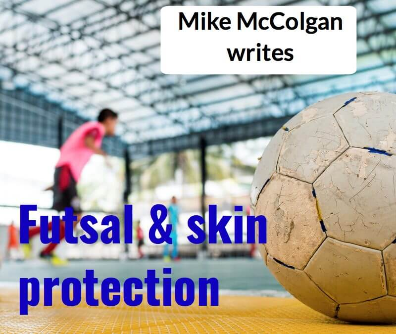 Futsal Trial and blister prevention