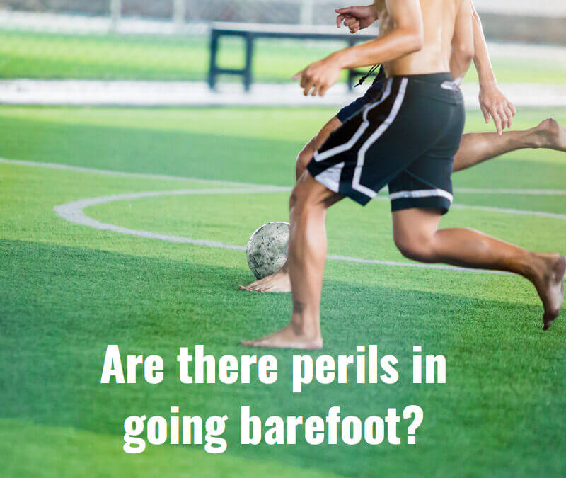 Barefoot Kick off your Shoes