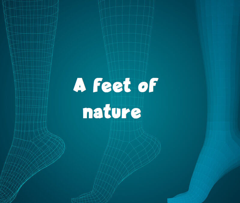 A feet of nature