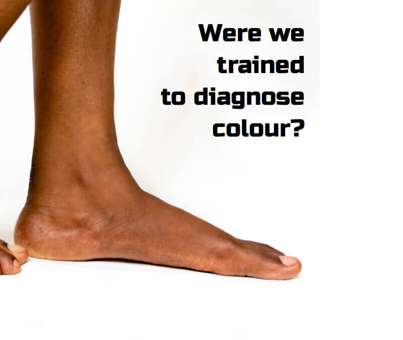 Colour diagnosis and training in podiatry