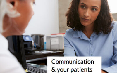 Communication and information for your patients