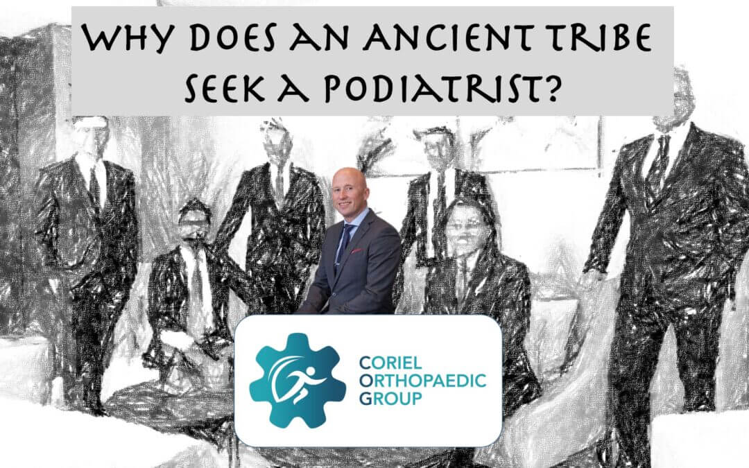Why does an Ancient Tribe seek a Podiatrist