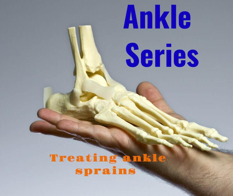 Treating Simple Ankle Sprains