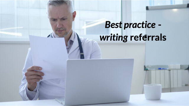 Writing to a GP about your patient