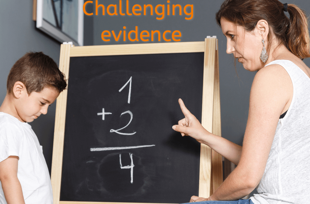 Challenging NHS Evidence